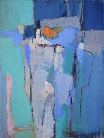 Dafila Scott, The Orange Hat (Hungerford Gallery)