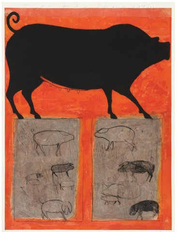 Kate Boxer, To all the Pigs I have eaten (Mounted)