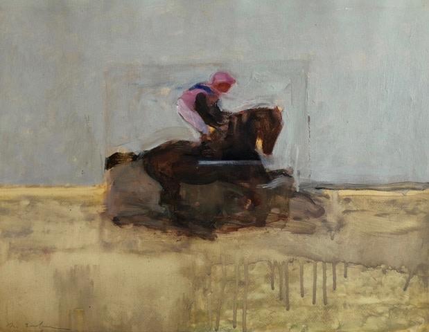 Antoine de La Boulaye, Jockey IV (Hungerford Gallery)