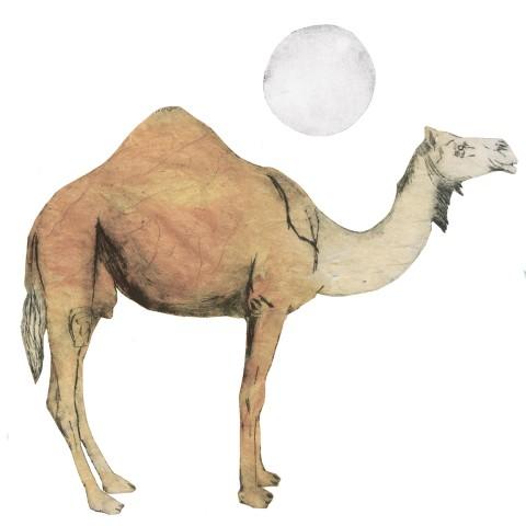 Beatrice Forshall, Camel (Unframed)