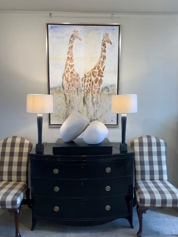Christine Seifert, Giraffes (London Gallery)