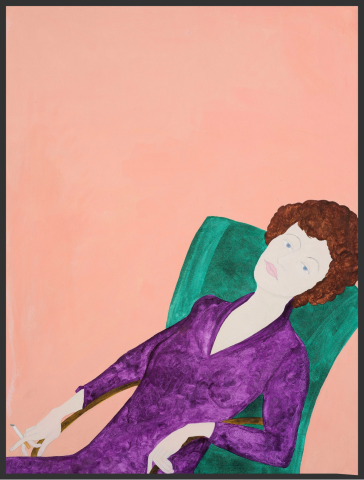 Kate Boxer, Muriel Spark (London Gallery)