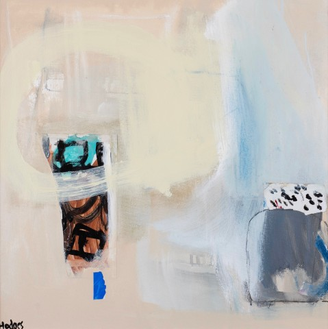 Felice Hodges, Two Vessels on Beige (London Gallery)