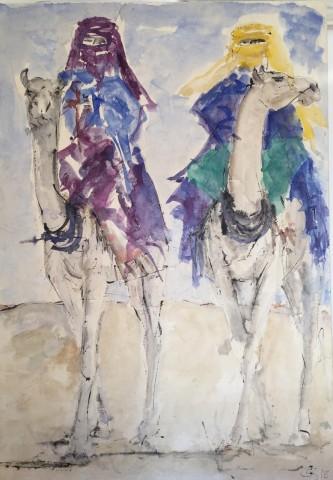 Christine Seifert, Riding Through the Desert (Hungerford Gallery)