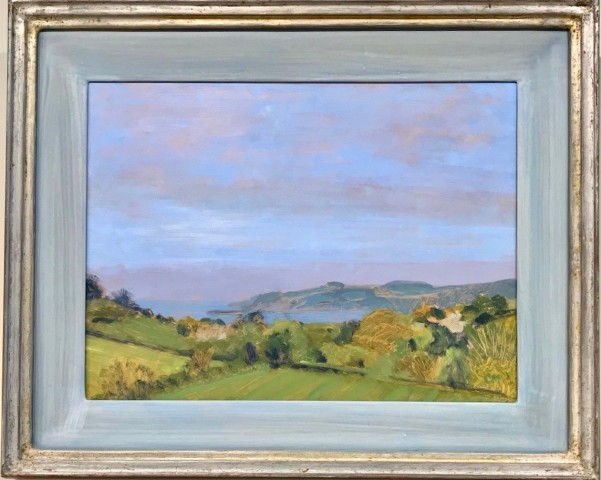 Celia Montague, Across to Mylor, Cornwall (Hungerford Gallery)