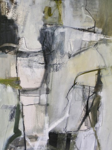 Chris Sims, Gathered Together (Mounted) (London Gallery)