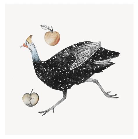 Beatrice Forshall, Guinea Fowl (Unframed)
