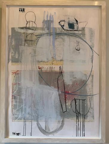 Felice Hodges, Still Life: Metallic Rose (London Gallery)