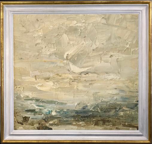Louise Balaam, Creamy Sky, Arran