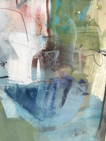 Chris Sims, Tender Green (Framed) (Hungerford Gallery)