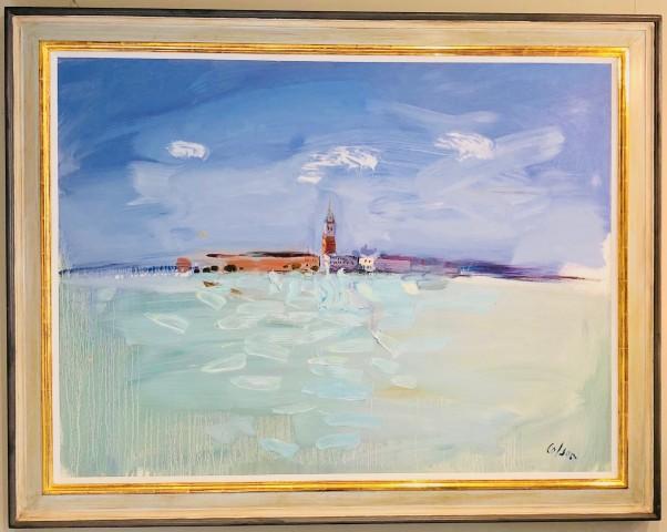 The Campanile, Venice from Giudecca I (London Gallery)