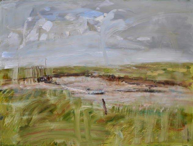Beached at Morston, Norfolk II (Hungerford Gallery)