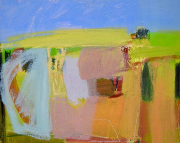 Going up the Hill in Summer (London Gallery)