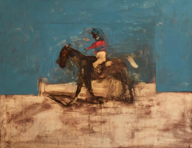 Antoine de La Boulaye, Jockey I (Hungerford Gallery)