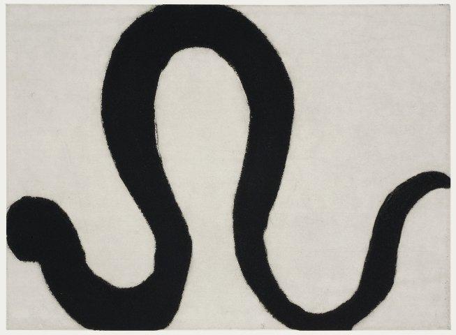 Kate Boxer, Snake II (Mounted)