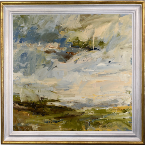 Louise Balaam, Ancient Fields, Cape Cornwall (London Gallery)