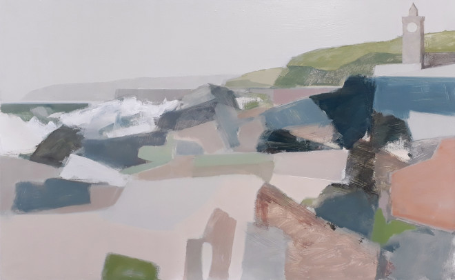Myles Oxenford, Porthleven (Hungerford Gallery)