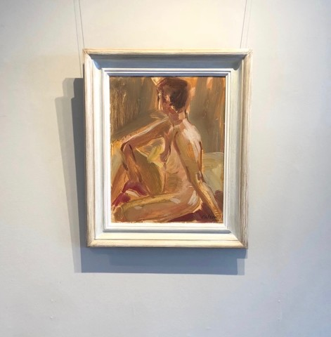 Nude Sitting (London Gallery)