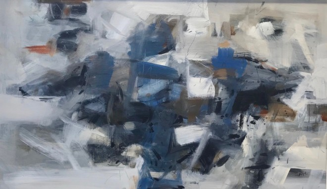 Malcolm Chandler, Blue Maze (Hungerford Gallery)