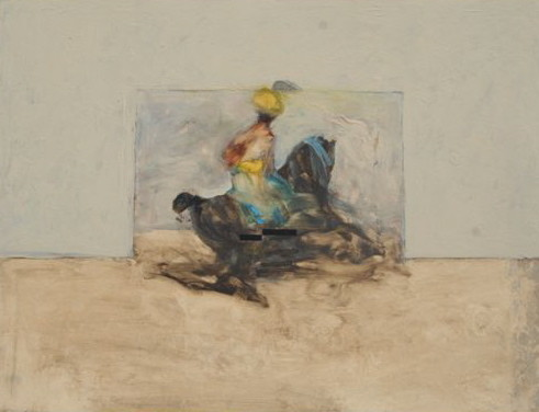 Antoine de La Boulaye, Orientalist Horseman I (London Gallery)