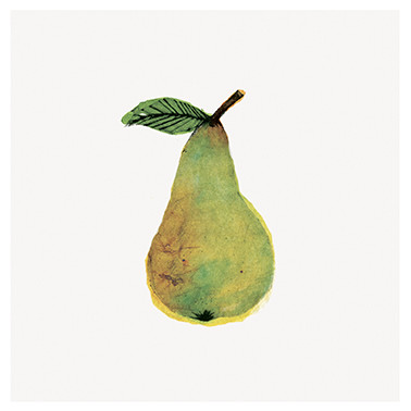 Beatrice Forshall, Pear (Unframed)