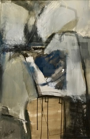 Chris Sims, Arrival (Framed) (London Gallery)