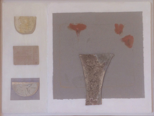 Relief Painting with Vase (Hungerford Gallery)