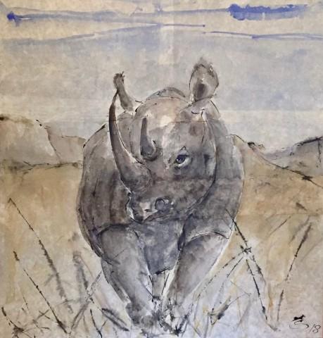 Christine Seifert, Rhino (London Gallery)