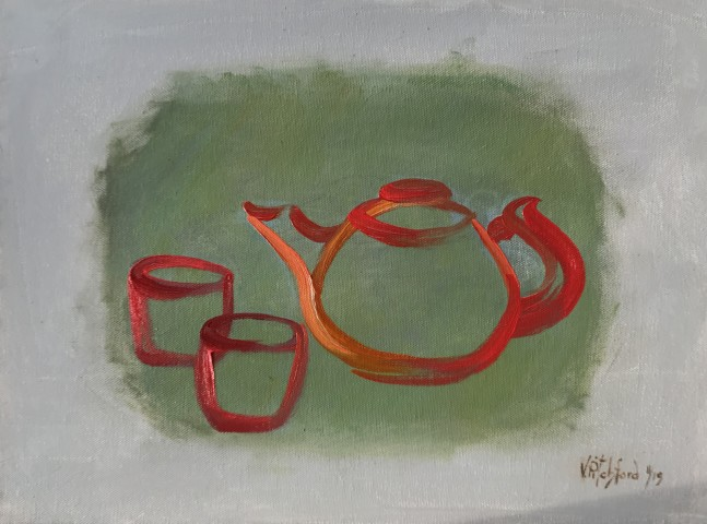 Val Pitchford, Tea for Two (Hungerford Gallery)
