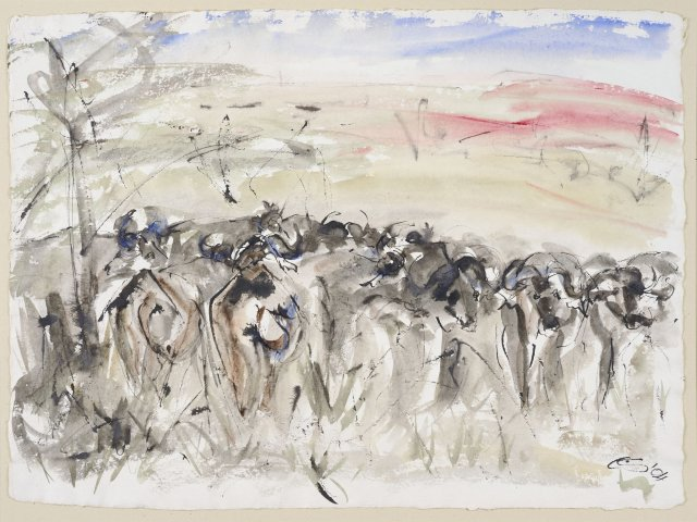 Christine Seifert, Buffalo (Unframed)