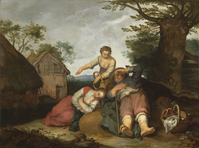 Abraham BLOEMAERT, Rural Genre Scene with the Prodigal Son, 1634