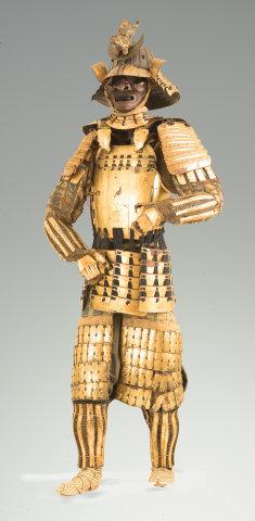 Katchu Shi, Gold Samurai Armor, Date Clan of Sendai, c. 1800