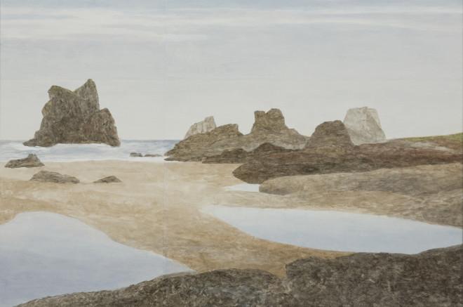 Gwen Davidson, Crescent Beach (South) II, 2019