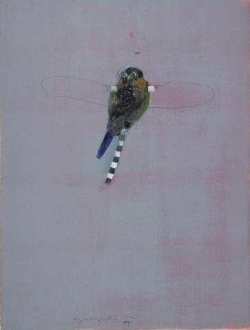 Rick Bartow, Little Kestrel I, 2007