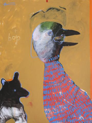 Rick Bartow, bop, 2012