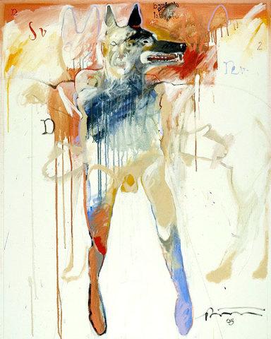 Rick Bartow, Big Wolf Dancer, 2005