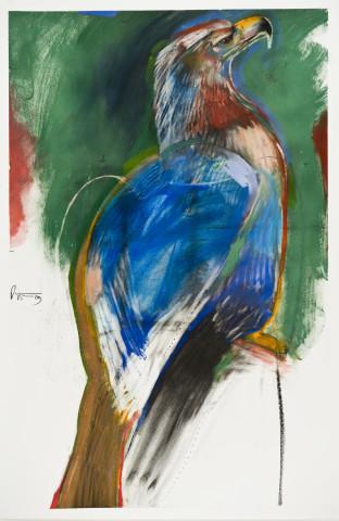 Rick Bartow, Eagle, 2009
