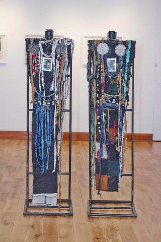 Bruce Onobrakpeya, Nomadic Masquerades, 2008