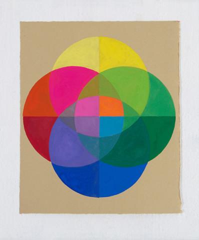 Ronnie Hughes, Overlap (4), 2019