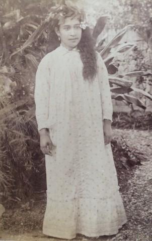 Charles Georges Spitz, Tahitienne