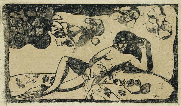 Paul Gauguin, Te Arhi Vahine, Opoi, 1898