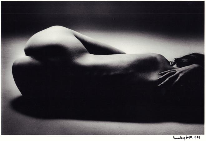 Jeanloup Sieff, Nu couché, 1969