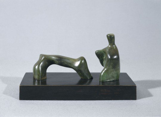 Maquette for reclining figure : Arch leg