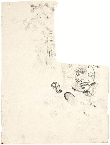 Paul Gauguin, Tête de Femme des Marquises, 1902