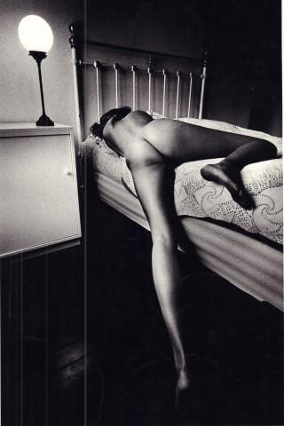 Jeanloup Sieff, Profile, Paris, 1989