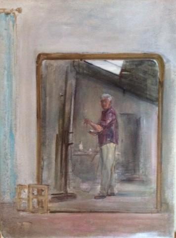 Rodrigo Moynihan, Self Portrait, 1986