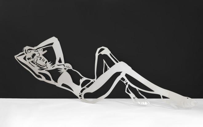 Louise Hunt, Reclining Bikini Girl