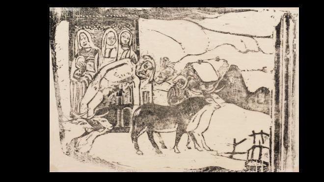Paul Gauguin, Le Calvaire Breton, 1898-99