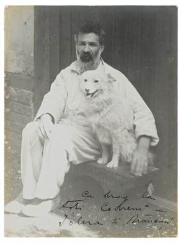 Constantin Brancusi, Self-Portrait with Polaire