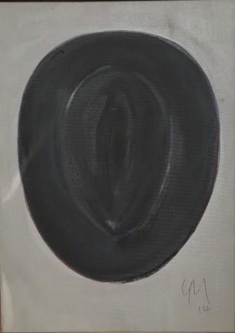 Grégoire Müller, Hat (pour Magritte), 2014
